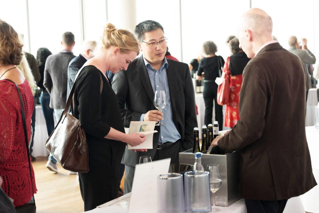 Die wunderbare Weinprobe am 09.09.2017 im KölnSKY mit gleich 10 Spitzenwinzern!