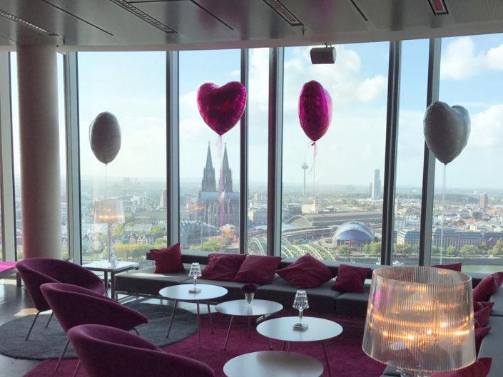 unsere Loungelandschaft mal ganz in pink..