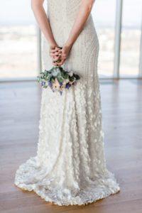Wer fängt wohl den schönen Brautstrauß im KölnSKY?