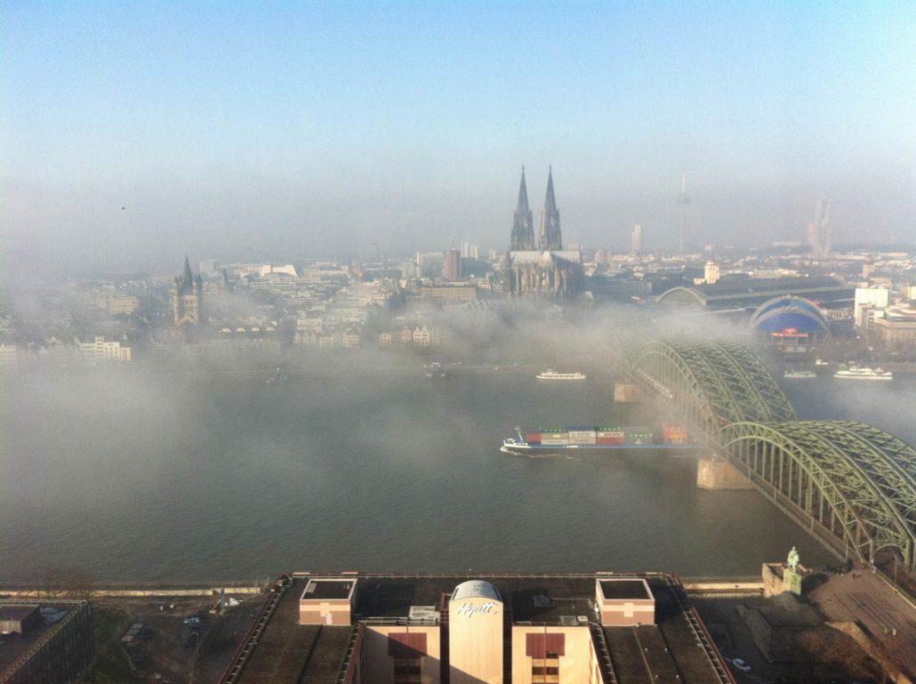 Auch im Nebel so schön.