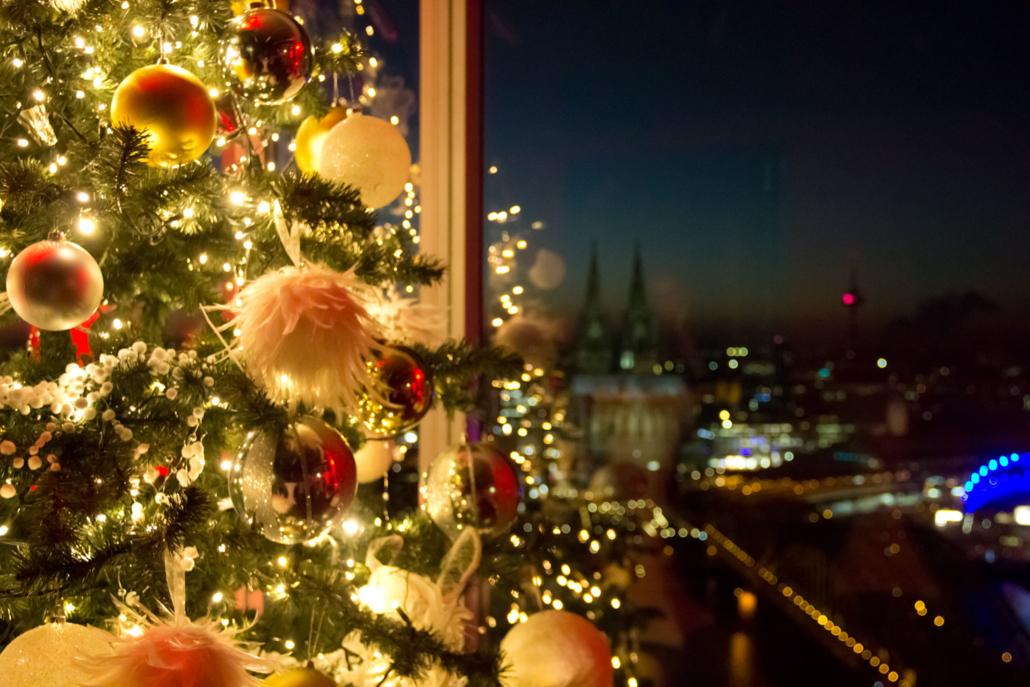 Der KölnSKY ist die perfekte Eventlocation für Ihre Weihnachtsfeier.