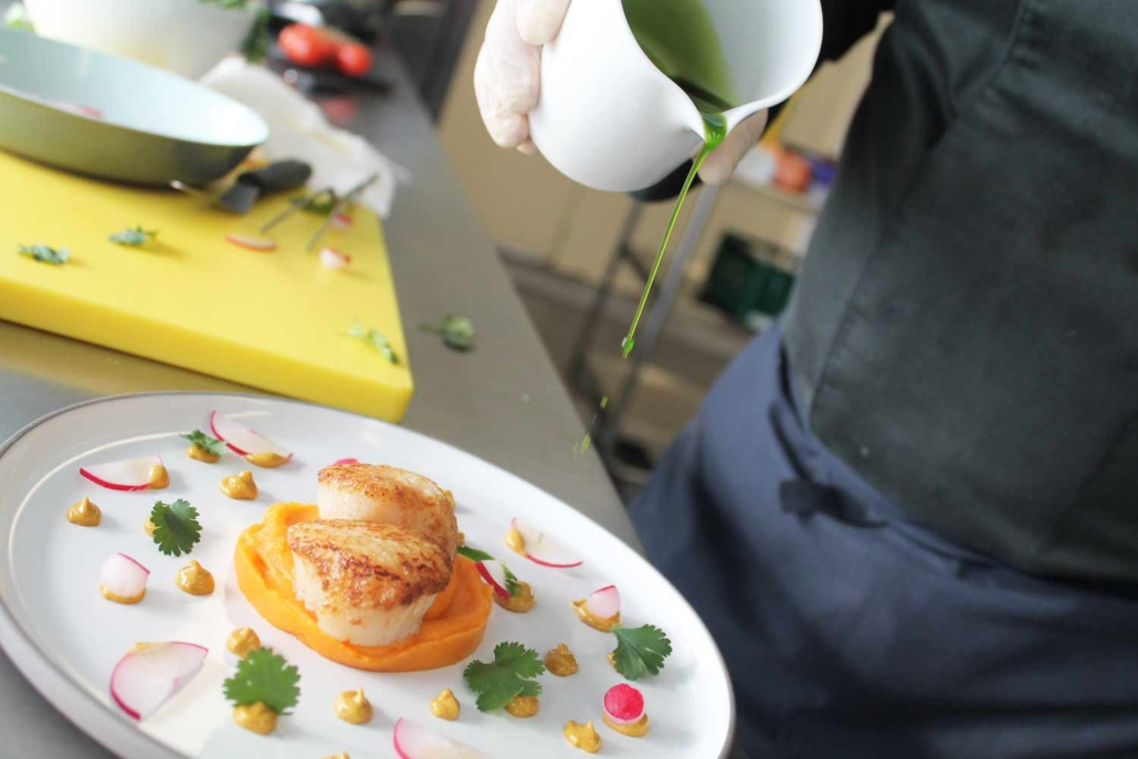 Impressionen aus unserer KölnSKY Küche