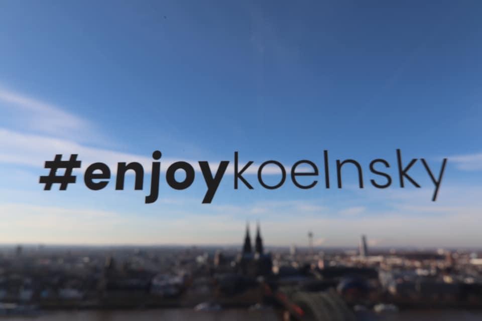 Ihre Eventlocation KölnSKY direkt am Rhein! #enjoykoelnsky